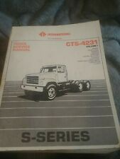 International truck service manual Cts-4231 Volume1