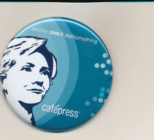 2008 Cafe Press Hillary Clinton campaign button - early issue & uncommon item