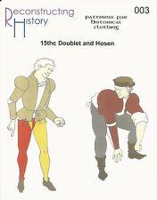 Schnittmuster RH 003 Paper pattern 15th Century Men's Doublet & Hosen