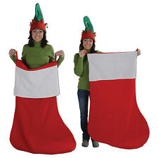 """GIANT CHRISTMAS STOCKING 48"""" Inches tall Party Decoration FUNNY GIFT"""