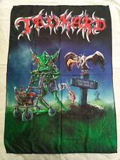 TANKARD - One foot in the grave FLAG Heavy thrash METAL cloth poster