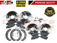 FOR MERCEDES VITO 639 FRONT REAR BRAKE DISCS PADS SET KIT SENSORS BRAKE SHOES