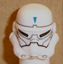 Lego Stormtrooper Minifig Helmet x 1 White & Special Forces Commander Pattern
