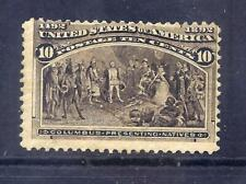 US Stamps - #237 - MNH - 10 cent 1893 Columbian Expo Issue - CV  $250