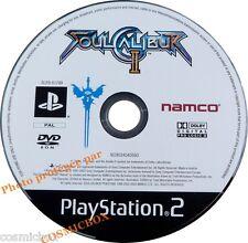 SOULCALIBUR II - jeu de combats pour console sony PS2 PlayStation 2 pal testé