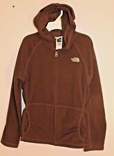 Girls The North Face fleece jacket size Lg (14/16) winter fall spring Brown GUC