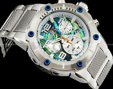 Invicta Mens Speedway Viper Swiss Ronda Z60 Chronograph Deep Dish Dial SS Watch