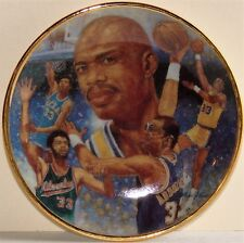 "KAREEM ABDUL-JABBAR LA Lakers UCLA Gartlan USA 3 1/4"" Plate 1989 ""Path Of Glory"""