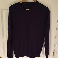 Cos Jersey de lana Merino Púrpura M