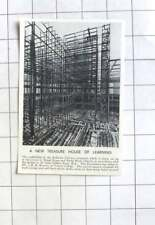 1938 Scaffolding Of The Bodleian Library Extension In Oxford