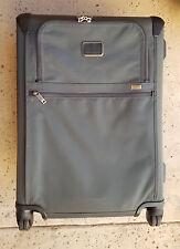 New! Tumi 'Alpha 2' Short Trip 4 Wheeled Gray Suitcase 022064GR2E MSRP $875
