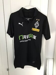 Polohemd Borussia Mönchengladbach matchworn Chinatour Trikot Poloshirt Gladbach