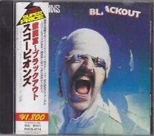 SCORPIONS - blackout CD japan edition