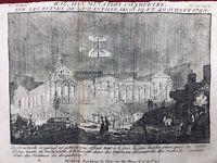 Ruines de la Bastille 1790 Bal Champêtre Illumination Paris Révolution Française
