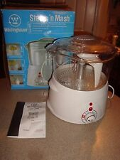 WESTINGHOUSE STEAM ' N MASH STEAMER COOKER NIB # WST 3004 Good In Box