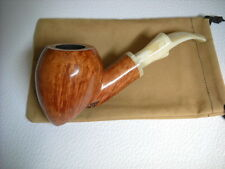 PIPE MARIO GRANDI BRIAR SMOOTH FIAMMATA  WEIGHT 88gr. FREE HAND NEW PIPES