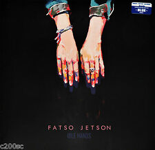 FATSO JETSON - IDLE HANDS, ORG 2016 LIMITED EDITION BLUE vinyl LP, NEW - SEALED!