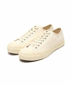 MOONSTAR × fennica / canvas sneakers huff NATURAL/WHITE Kurume Japan
