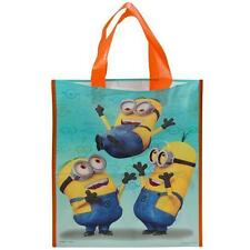 "Despicable Me Treat Bag Party Favor 13"" x 11"" Halloween Candy Plastic New Tote"
