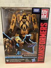 Transformers Studio Series Deluxe Class Constructicon Scrapmetal #41 New!