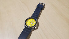 Seiko Divers SKXA35 200m Yellow Automatic Men's Watch Rare Discontinued