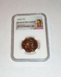 2000 S Sacagawea $1  PF 70 Ultra Cameo