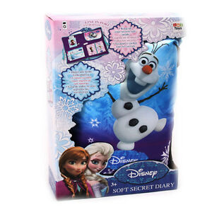 Disney die Eiskönigin Frozen Notizbuch Aussen ein Kissen innen Dein Tagebuch