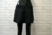 Gonna DONDUP Donna Taglia Size 42 Skirt Woman Lana Nero Black Minigonna Corta