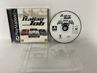 NEAR MINT The Italian Job - PS1 Playstation Complete New Case Pro Cover WOW