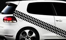 Aufkleber Reifenprofil Reifen Profil Karomuster Race Turbo Karo Sticker 4x4