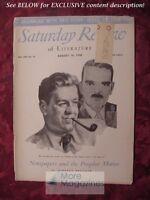SATURDAY REVIEW August 14 1948 WARREN MOSCOW HERBERT BRUCKER