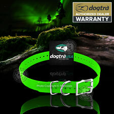 """Dogtra Replacement Dog Collar Strap 1""""x 24"""" Green 1200NCP 2000NCP 200NC +"""