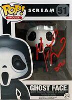 Matthew Lillard autograph inscribed Funko Pop Scream PSA COA Stu Macher #51