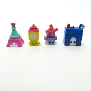 2017 Shopkins World Vacation Game Replacement Pieces - 4 Movers