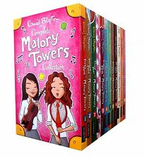 Enid Blyton Complete Malory Towers Collection 12 Children Books Gift Set