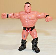 WWF WWE ECW WCW CUSTOM HASBRO THE ROCK ROCKY MAIVIA WRESTLING ACTION FIGURE