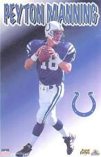 1998 Peyton Manning Indianapolis Colts Original Starline Poster OOP