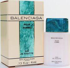 Balenciaga Pour Homme by Balenciaga 0.13oz Edt Mini Splash For Men New In Box