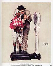 Norman Rockwell Saturday Evening Post Print THE JOCKEY