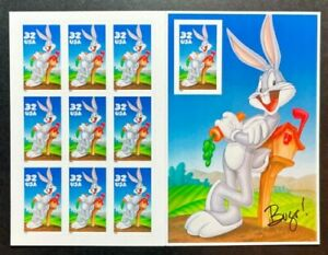 US Scott# 3137 Bugs Bunny - Looney Tunes - Sheet of 10 Stamps - MNH - 1997