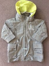 Baby Boys Age 6 Months Natural Colour Timberland Jacket With Detachable Hood