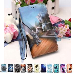 For Motorola Moto E7 E6s 2020 G8 Power Lite Fashion Leather Wallet Phone Case