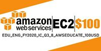 AWS $100 Code Amazon Promocode Credit Web Services IC_Q3_8