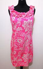 HAWAII VINTAGE AÑOS 70 Vestido De Mujer Flower Algodon mujer vestido Sz. S - 40