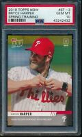 2019 Topps Now Spring Training Bryce Harper PSA 10 Gem Mint SP #ST-3 (Qty)
