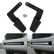 "2X Mounting Brackets Hidden Bumper For 05-15 Toyota Tacoma 30"" Row LED Light Bar"