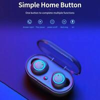 W12 Bluetooth 5.0 Mini Headset TWS Wireless Earphones Earbuds Headphones