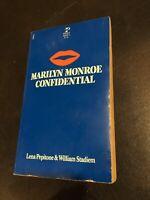 Marilyn Monroe Confidential By Lena Pepitone PLAYBOY 1ST ED. 1980 RARE