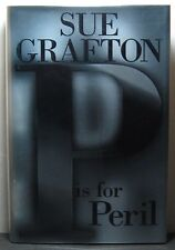 P IS FOR PERIL by Sue Grafton, signed 1st/1st hardback book