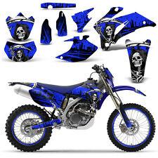 Yamaha WR250F 250F 07-14 WR450F 450F 07-11 Graphic Kit Dirt Bike Decals REAP BLU